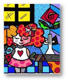Romero Britto - съвременно Pop Art
