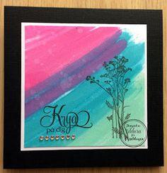 Pysseldags: Krya-kort lagom till februari Feel Better card - by Zildara