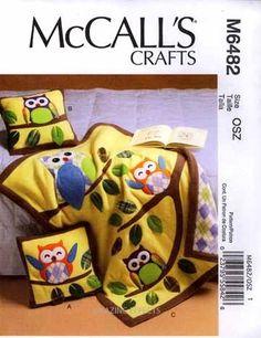 McCall's Pattern Owl Quilt...Soo cute