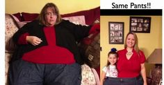 Here's an incredible 200 pounds weight loss transformation.