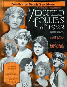 Ziegfeld and His Follies book review by author Tara Hanks! http://tarahanks.com/2015/09/21/ziegfeld-and-his-follies/
