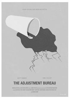 The Adjustment Bureau Movie Poster - excites - the Portfolio of Simon C. Page