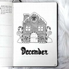 Full of wonder beautiful Bullet Journal theme ideas for cold winter months. Plus fun page ideas you can include in your setup. Lots of inspirations - cover pages, monthly logs, weekly spreads, and more. Pick a fun and creative theme to start your month. #mashaplans #bulletjournal #winterbujo #bujo #bujoinspo Bullet Journal 2, December Bullet Journal, Bullet Journal Cover Page, Bullet Journal Themes, Bullet Journal Spread, Journal Covers, Bullet Journal Inspiration, Journal Pages, Journal Ideas