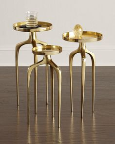 INTERLUDE - Galactic Side Tables, sale $636.75