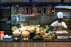 at Hotel Jen Tanglin Singapore has just launched one of the cheapest hawker buffets in Singapore, Celebrate your birthday at and get a free buffet and cake. Wedding Buffet Displays, Wan Tan, Hotel Buffet, Places To Eat, Eating Places, Laksa, Tapas Bar, Milkshake, It's Your Birthday