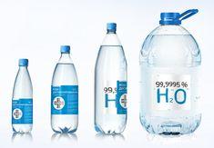 Water Bottle Design, Water Bottle Labels, Pet Bottle, Water Bottles, Water Packaging, Drinking Water, Bottled Water, Water Company, Mineral Water