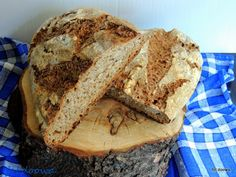 Moje Małe Czarowanie: Chleb na zakwasie pieczony na kamieniu Banana Bread, Food, Essen, Meals, Yemek, Eten