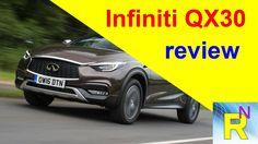Read newspaper - Infiniti QX30 review