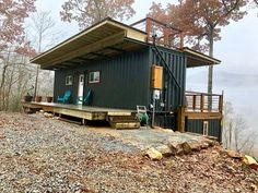 Build Container Home 598908450433212268 - Source by blondelketa Container Homes For Sale, Cargo Container Homes, Container House Design, Container Office, Container Shop, Shipping Container Buildings, Shipping Container Home Designs, Shipping Containers, Container Architecture