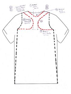 alla Poppy: T-Shirt Surgery: A Racerback Dress Sewing Hacks, Sewing Crafts, Sewing Projects, Diy Crafts, Sewing Tips, T Shirt Diy, Diy Tshirt Ideas, Diy Tops, Old T Shirts