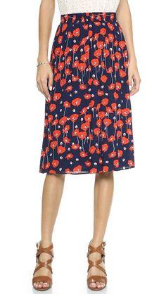 Ella Moss Poppy Fields Skirt