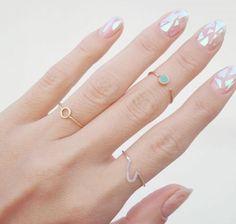 Nieuwe Trend, glass nail