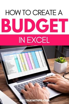 finance budgeting Want to create your own budget template in Excel Check out this step-by-step video tutorial on how to create your budget from scratch! Making A Budget, Create A Budget, Budgeting Finances, Budgeting Tips, Financial Tips, Financial Planning, Planning Budget, Sample Budget, Household Budget