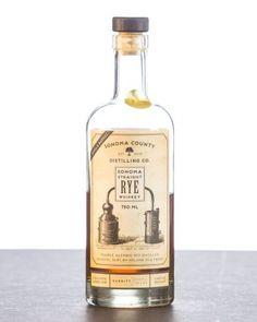 Whiskey Label, Sonoma County, Vodka Bottle, Drinks, Drinking, Beverages, Drink, Beverage, Cocktails