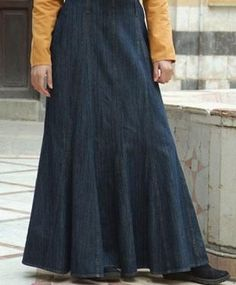 Okay, this is cool. ;-) If I'm gonna wear a longer skirt, sometimes I like it to be reeaallyy long! :-D