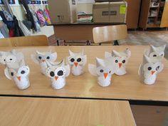 Játékos tanulás és kreativitás: Bagoly papírgurigából és muffinpapírból
