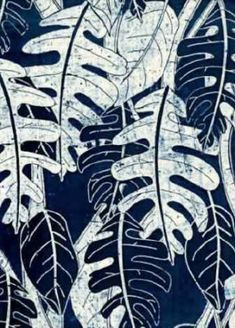 Batik A method of dyeing fabric where some areas are covered with wax or pastes made of glues or starches to make designs by keeping dyes from penetrating in pattern areas Batik Art, Batik Prints, Textile Prints, Textile Art, Fabric Painting, Fabric Art, Batik Pattern, Pattern Print, How To Dye Fabric
