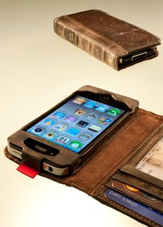 Very cool book iPhone cover/wallet!