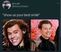 Why hurt me this way? One Direction Harry Styles, One Direction Humor, Harry Styles Memes, I Love Him, My Love, Harry 1d, Cute Photography, Family Show, Treat People With Kindness