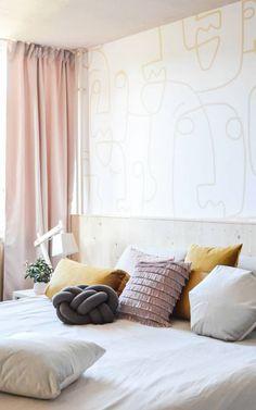 muralswallpaper living neutral