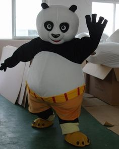 Kung Fu Panda Adult Costume Mascot
