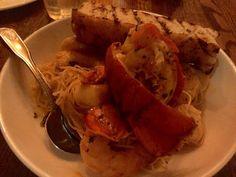 The Mooring - Newport, RI, United States. Seafood pasta!!!