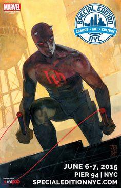 Daredevil Special Edition NYC by Alex Maleev *