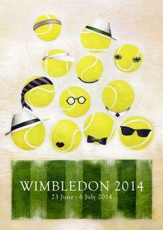 2014 Wimbledon Poster Contest | Julie