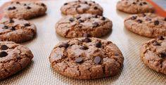 Cinnamon Hazelnut Chocolate Chip Cookies (Flour-free, Gluten-free, Oil-free) | The Healthy Flavor