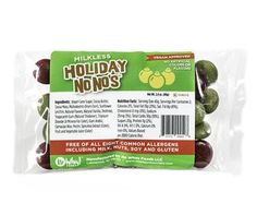 Holiday Choco No No's - Vegan Colored Candy Coated Chocolate