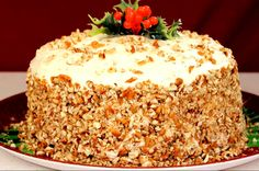Delicious and beautiful Italian Cream Cake Its great for the Holidays GETTING READY 1 Preheat the oven to 325 degrees. 2 Take 3 9 inch cake pans grease and flour them nicely. Italian Wedding Cakes, Italian Cream Cakes, Italian Cake, Italian Desserts, Italian Dishes, Food Cakes, Cupcake Cakes, Cupcakes, Köstliche Desserts