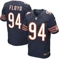 Men's Nike Chicago Bears #94 Leonard Floyd Elite Navy Blue Team Color NFL Jersey