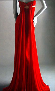 Almost got myself a red Valentino similar to this number. Will always regret not making that purchase.