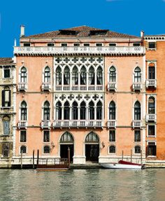 Gothic Palace Pisani Moretta on the Grand Canal