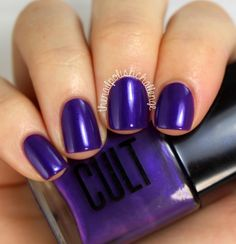 the nail polish challenge: Cult Cosmetics Blackbox Subscription: Purple, Please! Review and Nail Art