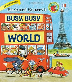 Richard Scarry's Busy, Busy World by Richard Scarry http://www.amazon.com/dp/0385384807/ref=cm_sw_r_pi_dp_0cUUvb0T2CHNT