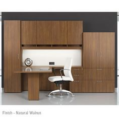 sleek and lightly scaled for smaller private office footprints, with the richness and presence of hand-made executive office furniture. Every piece is made to order, and every office is made together as a complete suite - providing an elegant, refined consistency of woods and finishes.