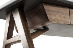 Roos Desk designed by Alexander Díaz Andersson, produced by Luteca
