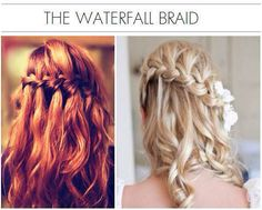 This style is great for those days when you don't feel like doing so much with your hair, but still want to look good.