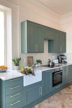 Free Kitchen Design, New Kitchen Designs, Kitchen Room Design, Home Decor Kitchen, Kitchen Interior, Home Kitchens, Kitchen Ideas, Kitchen Layout, Kitchen Colors