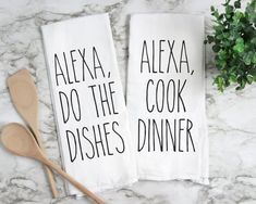 Engraved Mason Jar Centerpiece Alexa Kitchen Towels I 12 Styles Kitchen Jars, Cute Kitchen, Kitchen Signs, Kitchen Towels, Kitchen Decor, Funny Kitchen, Ikea Kitchen, Design Kitchen, Kitchen Ideas