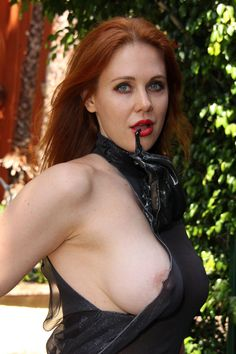 Maitland Ward Braless Nip Slip in Completely See Through Blouse on TaxiDriverMovie.com