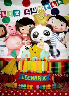 Little Baby Bum Birthday Cake Birthday Party Ideas