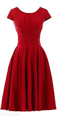 Wedding Ideas, Another color besides red Sunvary Classic Short Sleeves Dress