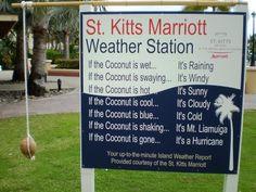 St. Kitts Marriott Weather Station