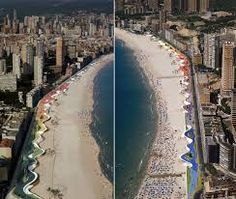 benidorm west beach promenade - Google Търсене