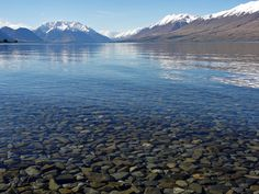 Lake Ohau, South Island, New Zealand