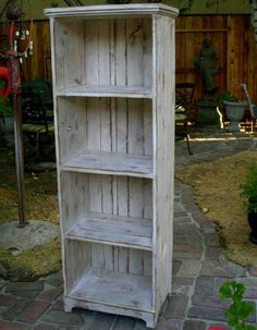 Exceptionnel Rustic Linen Cabinet Wood Shelves, Bookcase Wall, Solid Wood Bookshelf,  Tall Shelves,