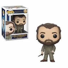 The Fantastic Beasts range has expanded to include the latest release - Crimes of Grindelwald Funko Pop! Standing about 3 tall, this Fantastic Beasts 2 Dumbledore Pop! Vinyl Figure is packaged in a window display box.