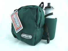 NWT Outdoor Products H2O Quencher Waist Fanny Pack Holds 1 Water Bottle #OutdoorProducts